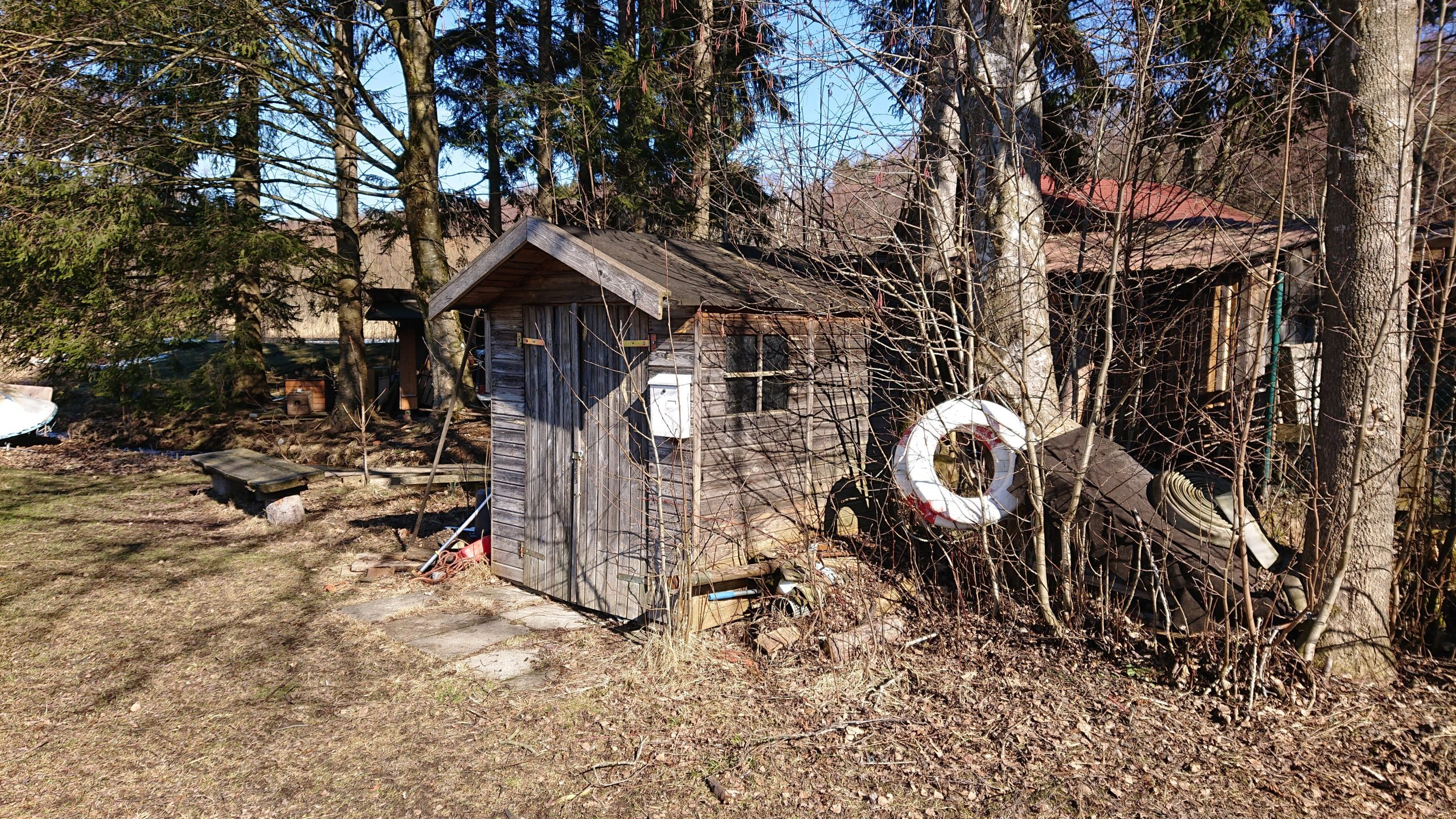Gewässerwart Hütte